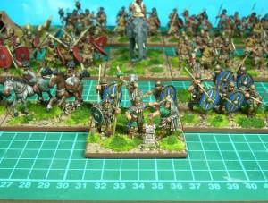 28mm Roman Auxilia Command