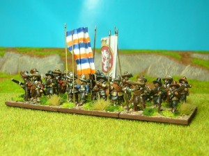 15mm TYW Dutch Starter Army Pike &amp; Shot Battlegroup