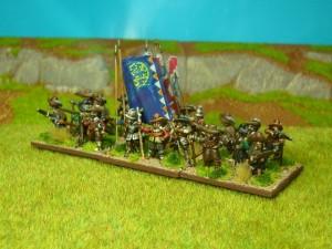 15mm TYW Dutch Starter Army Pike & Shot Battlegroup