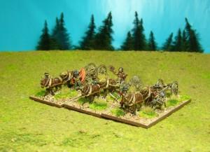 limbered Artillery