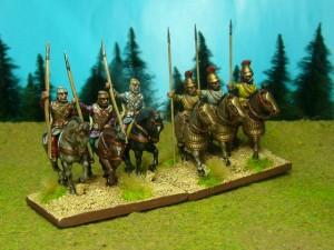 33 Kavalerie und Ritter