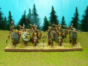 52 griechische Hopliten