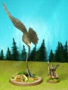 Adler mit Radagast