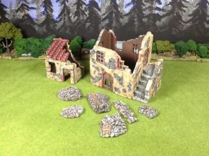 Nanostrategie Casa Ruinen verputzt