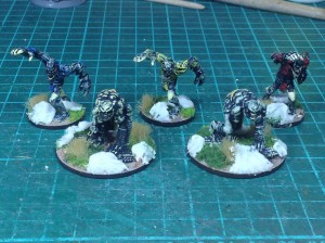 Mage Knight Zombies und Ghoule