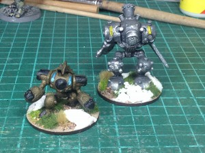 Small & Medium Construct Mage Knight