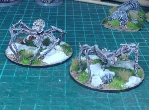Eis Spinnen von Ebob Miniatures