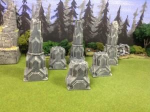 Frostgrave Säulen