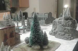 Frostgrave Stellprobe Demoplatte
