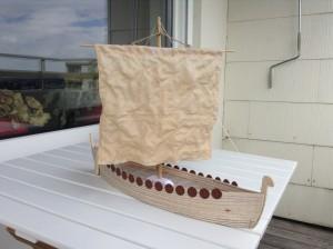 Rohbau Wikingerschiff