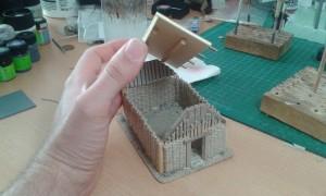Haus Rohbau fertig