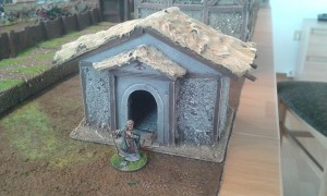 Kapelle fertig